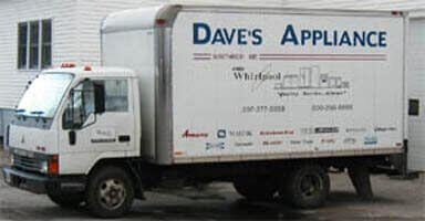 Dave's Appliance Delivery Truck